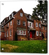 Sigma Phi Epsilon Fraternity On The Wsu Campus Acrylic Print