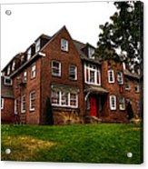 Sigma Phi Epsilon Fraternity On The Wsu Campus Acrylic Print by David Patterson