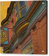 Sign - Frederick Inn Steakhouse And Lounge Acrylic Print