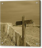 Sign Post To Nowhere 2 Acrylic Print