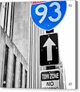 Interstate 93 Acrylic Print