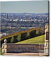 Signal Hill Acrylic Print