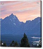 Signal Mountain Grand Teton National Park Acrylic Print