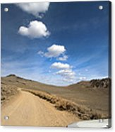 Signals ... Along The Bristlecone Pine Highway, White Mountains, California.  Acrylic Print