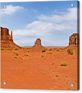 Signatures Of Monument Valley Acrylic Print by Christine Till