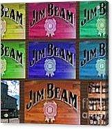 Signs Of Jim Beam Acrylic Print