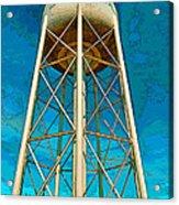 Sikeston Water Tower Iv Acrylic Print