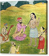 Sikh Painting Acrylic Print