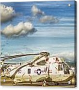 Sikorsky Sh-60b Seahawk Helicopter Acrylic Print