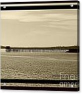 Silance Bridge Acrylic Print