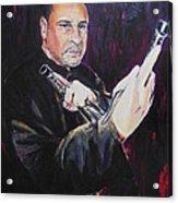 Pencak Silat - Pelatih Johnny Dutrieux Acrylic Print