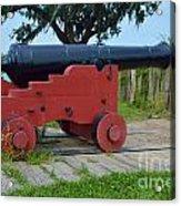 Silent Cannon Acrylic Print
