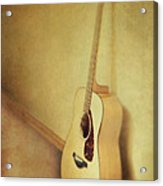 Silent Guitar Acrylic Print