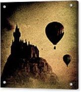 Silent Journey  Acrylic Print