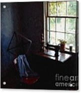 Silent Sewing Room Acrylic Print
