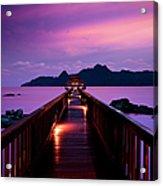 Silent Sunset In Pulau Langkawi Acrylic Print