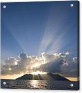 Silhouette Island Acrylic Print
