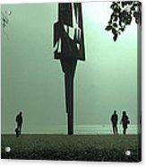 Silhouettes II Acrylic Print