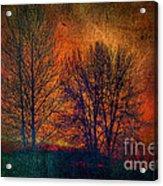 Silhouettes Acrylic Print