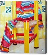 Silla De La Cocina--kitchen Chair Acrylic Print