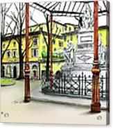 Silla Hotel Piazza Demidoff Florence Acrylic Print