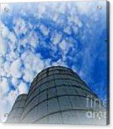 Silo Meets The Sky Acrylic Print