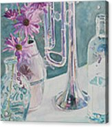 Silver And Glass Music Acrylic Print