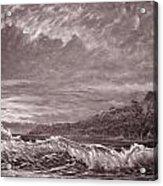 Silver Channel - Study Acrylic Print by Joseph   Ruff