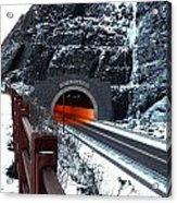 Silver Creek Tunnel Acrylic Print