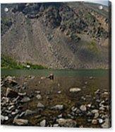 Silver Dollar Lake Colorado Acrylic Print