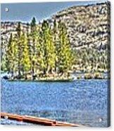 Silver Lake 2 Acrylic Print
