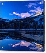 Silver Lake Acrylic Print