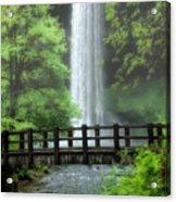 Silver Lake Falls Acrylic Print