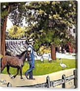 Silver Lake Mill-shenandoah Valley Acrylic Print