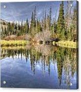 Silver Lake Utah Acrylic Print
