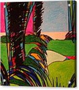 Silver Lining 9 Acrylic Print