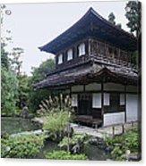 Silver Pavilion - Kyoto Japan Acrylic Print
