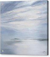Silver Sea Acrylic Print