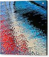 Silver Spirit Abstract Acrylic Print