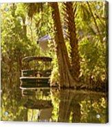 Silver Springs Glass Bottom Boats Acrylic Print by Christine Till