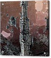 Silver Tower Acrylic Print