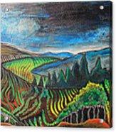 Silverado Trail Acrylic Print