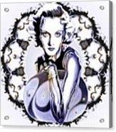 Silverscreenstar Carole Lombard Acrylic Print