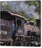 Silverton Engine 481 Acrylic Print