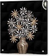 Silverware Bouquet Acrylic Print