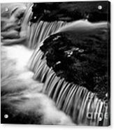 Silvery Falls Acrylic Print