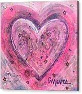 Simple Love Simple Heart Acrylic Print