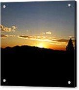 Simple Sunset Acrylic Print