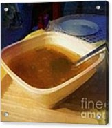 Simple Supper Acrylic Print