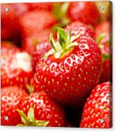 Simply Strawberries Acrylic Print